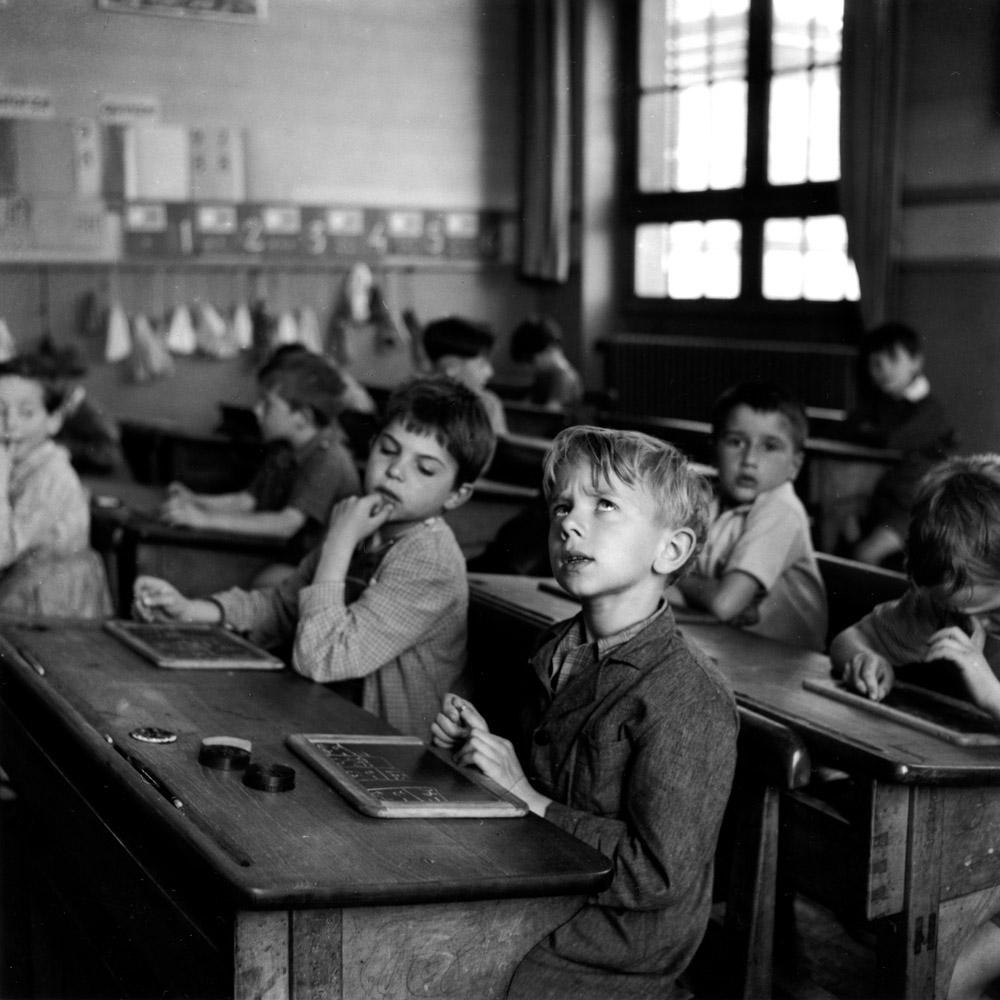 Robert Doisneau, L'information scolaire