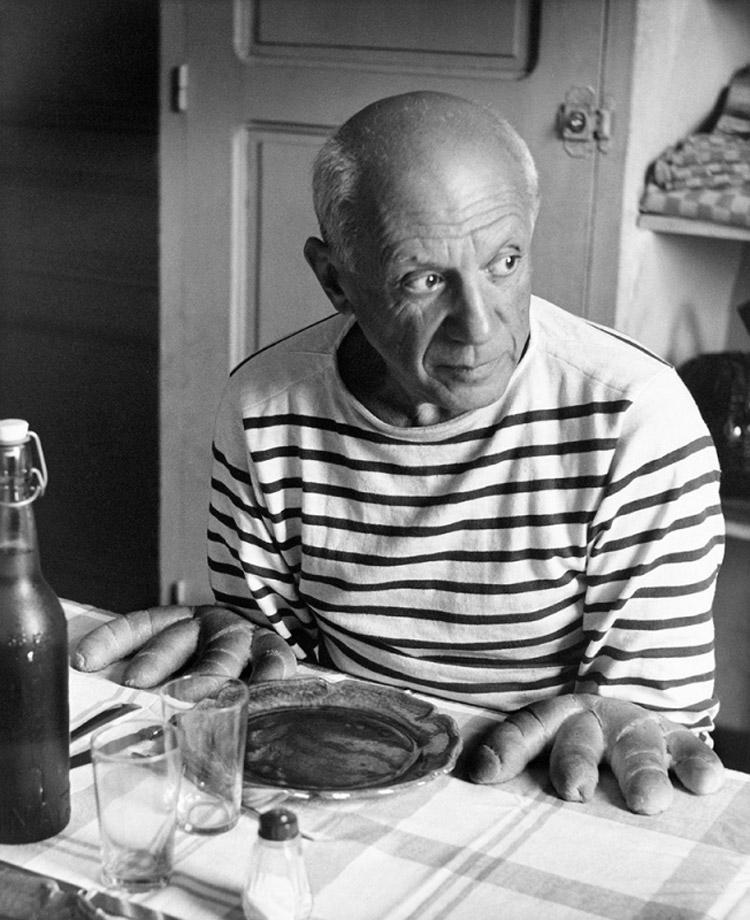 Robert Doisneau, Les pains de Picasso