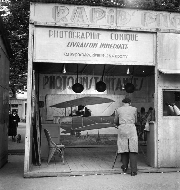 Robert Doisneau, Photographie aérienne