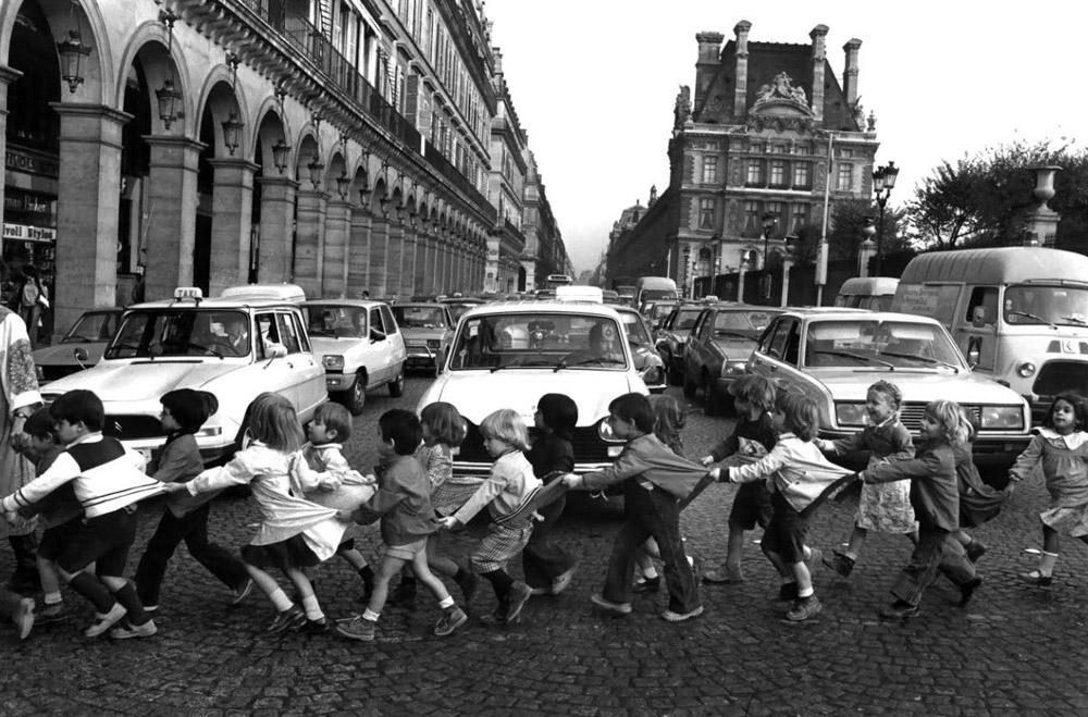 Robert Doisneau, Les tabliers de Rivoli