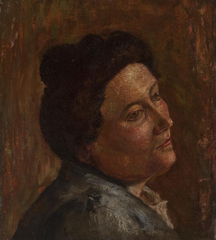 Amedeo Modigliani, Ritratto della signora Micheli