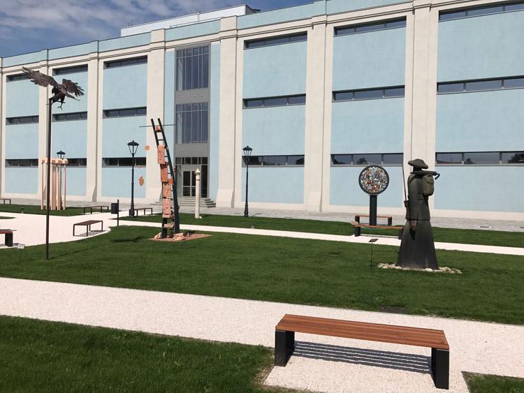 Esterno del Museo MAGI '900