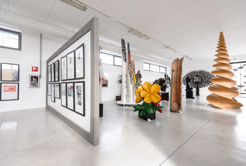 Una sala del Museo MAGI '900