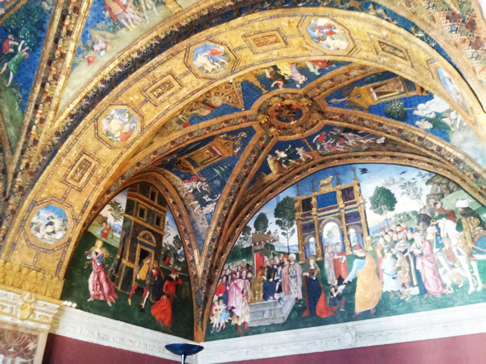 Affreschi dell'Appartamento Borgia in Vaticano