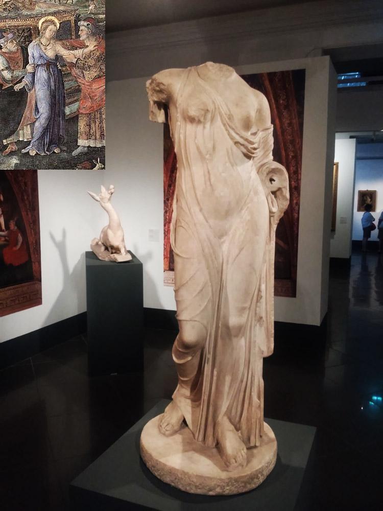 Statuetta di Afrodite tipo Louvre-Napoli