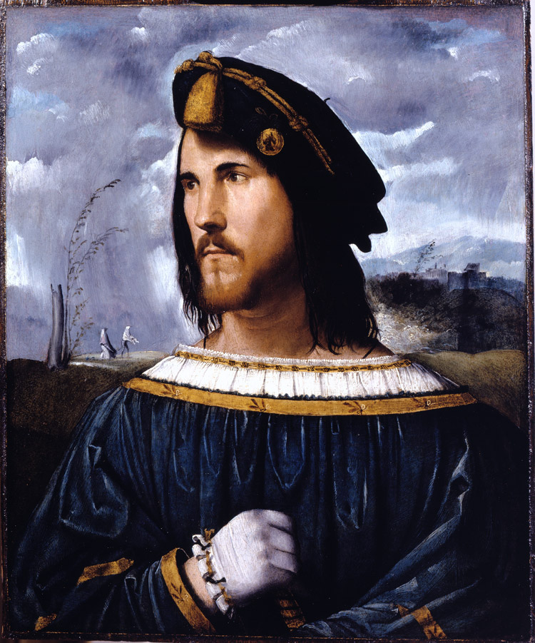 Altobello Melone, Ritratto di gentiluomo (Cesare Borgia?)