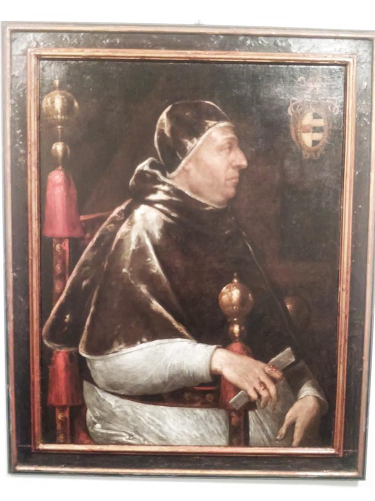 Attribuito a Tiziano, Ritratto di Alessandro VI