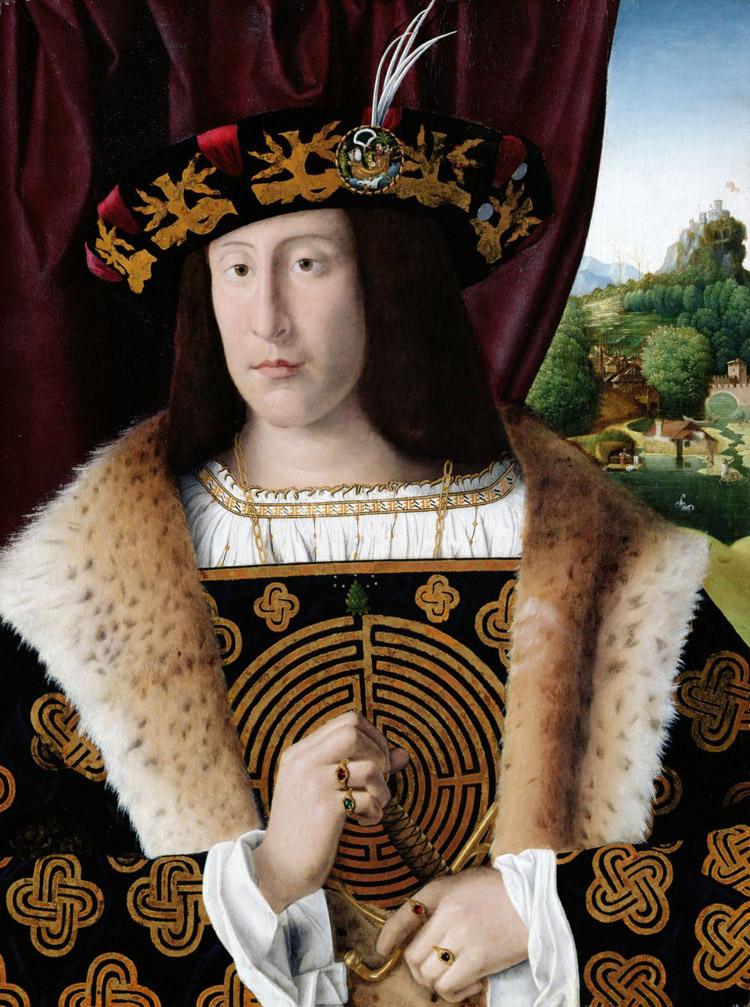Bartolomeo Veneto, Ritratto di gentiluomo