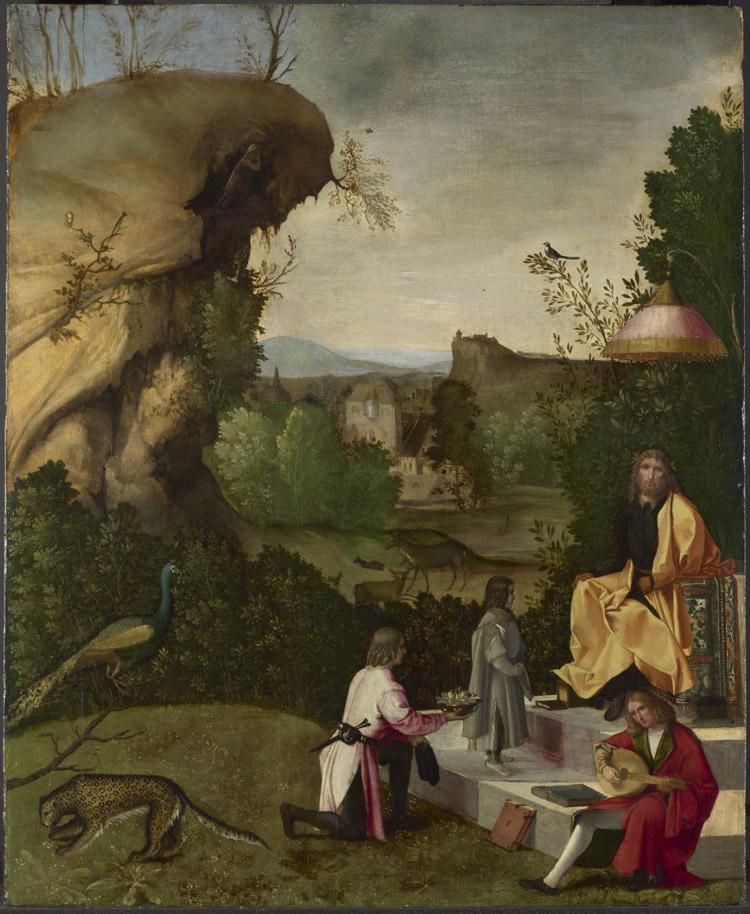 Giorgione, Fetonte davanti ad Apollo