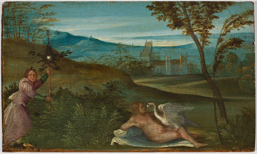 Giorgione, Leda e il cigno