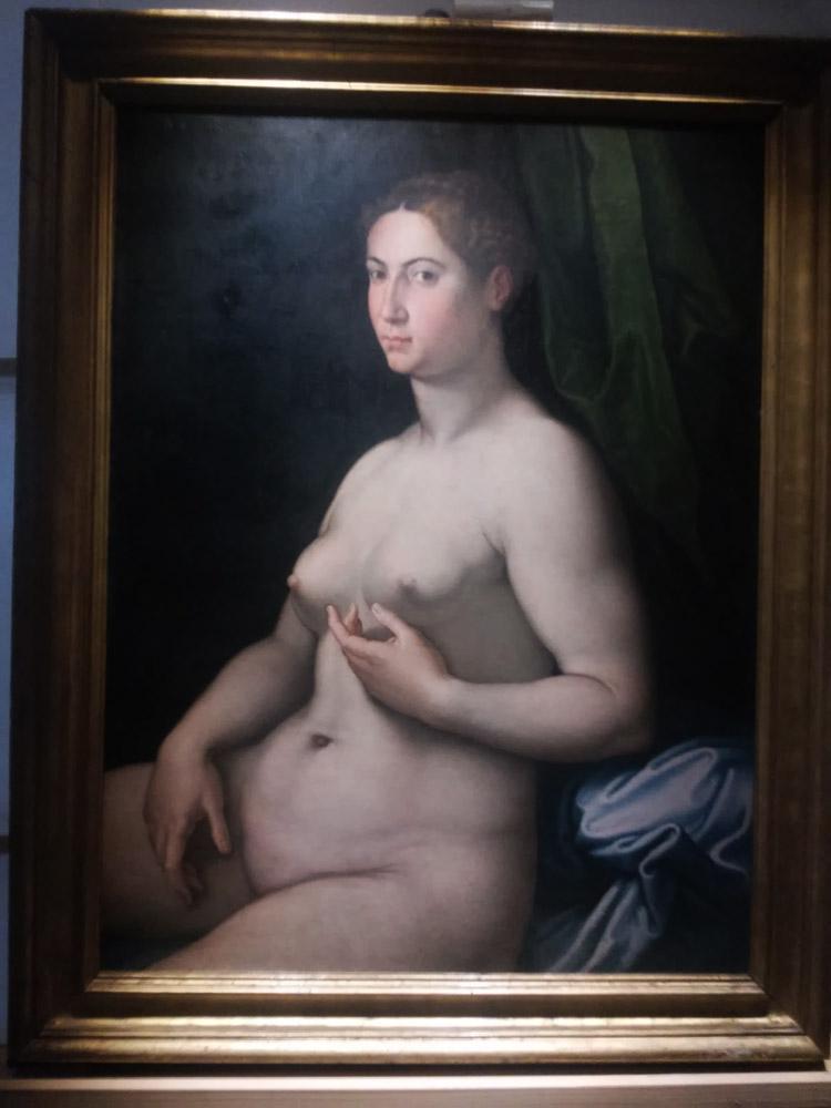 Girolamo Siciolante da Sermoneta, Nuda