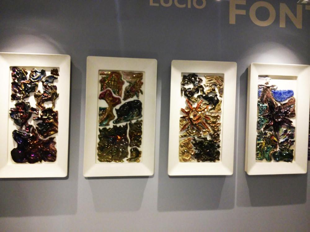 Lucio Fontana, I quattro pannelli del Conte Grande al MuDA di Albissola Marina