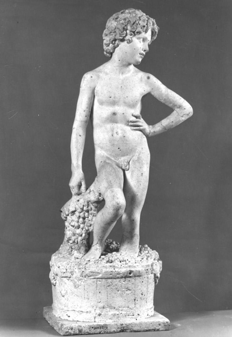 Lorenzo Bartolini, L'Ammostatore (modello in gesso)