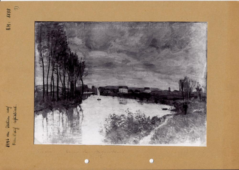 Alfred Sisley, La Seine à Argenteuil