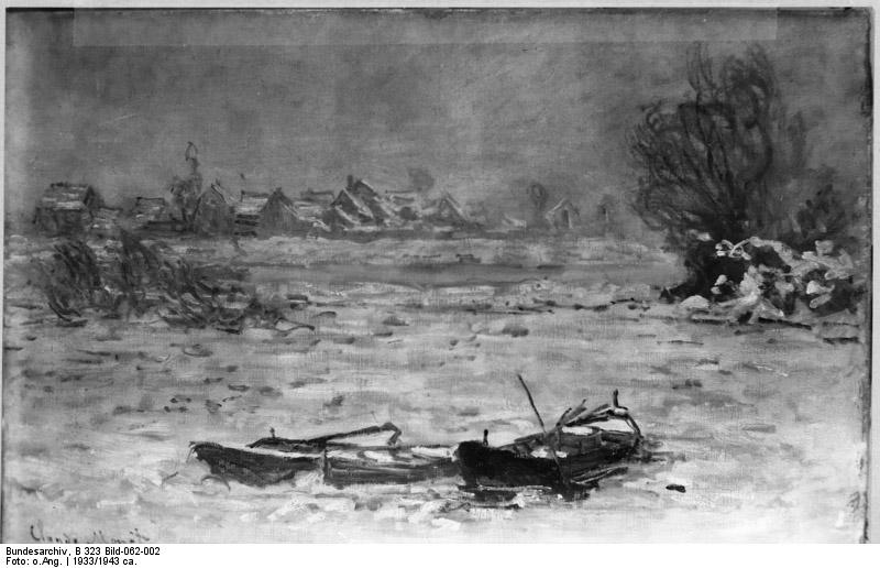 Claude Monet, Les glaçons