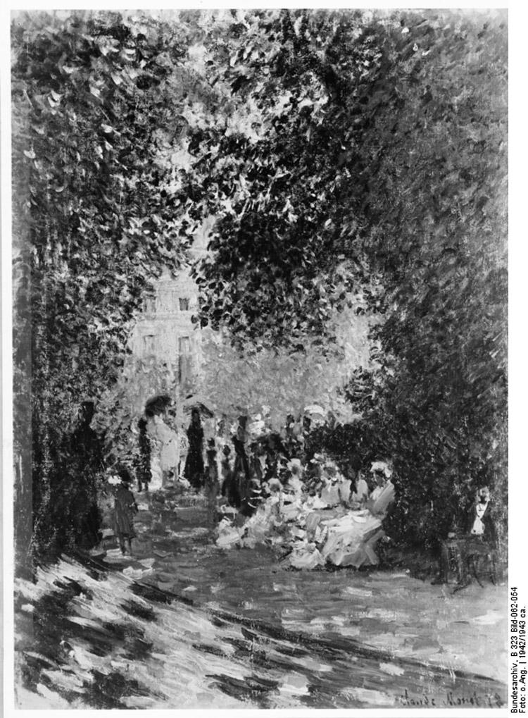 Claude Monet, Parc Monceau
