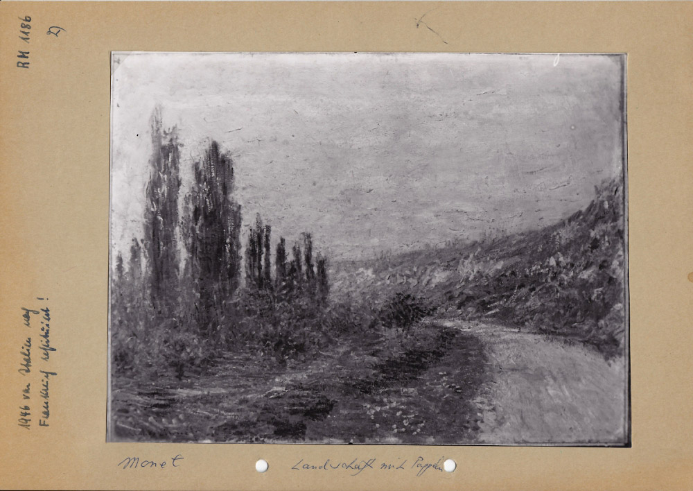 Claude Monet, Route de Vétheuil