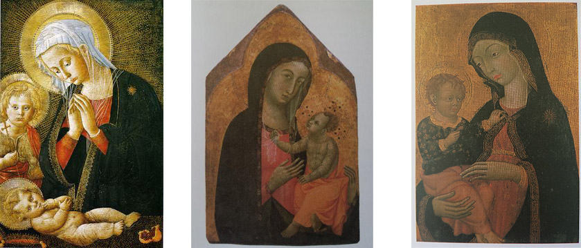 Madonne col Bambino dai depositi degli Uffizi