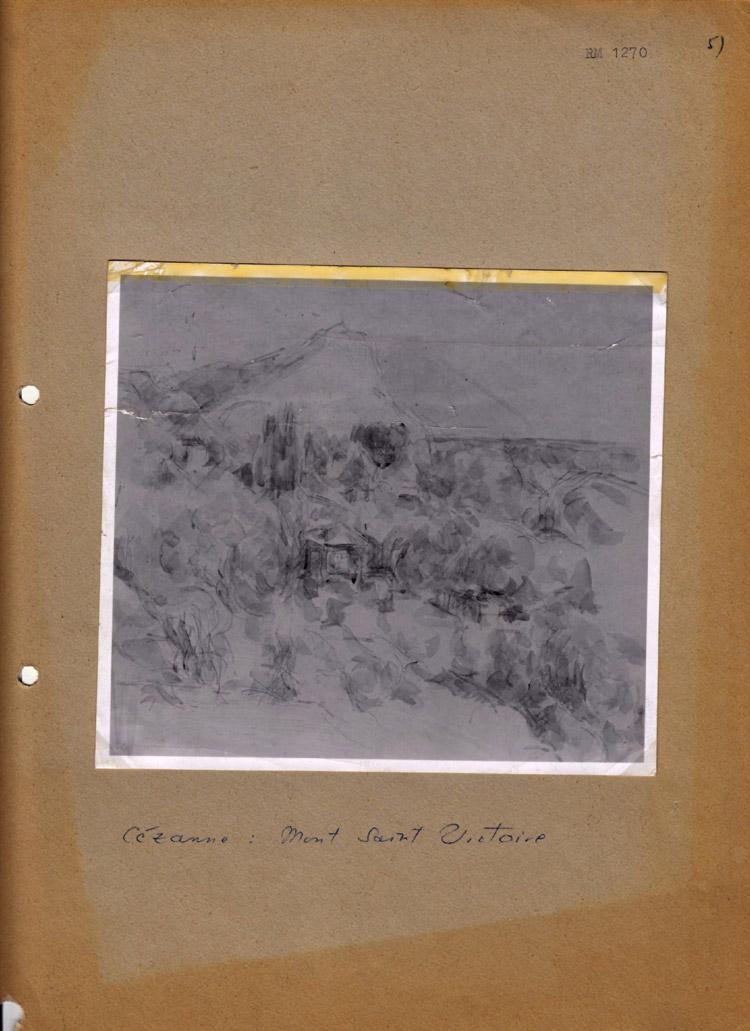 Paul Cézanne, Mont Saint-Victoire