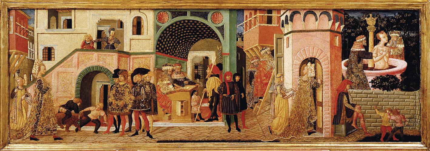 Giovanni di ser Giovanni detto lo Scheggia, Storie di Susanna
