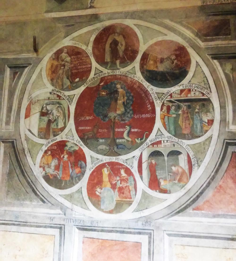Cristoforo di Bindoccio e Meo di Pero, Ruota di Barlaam