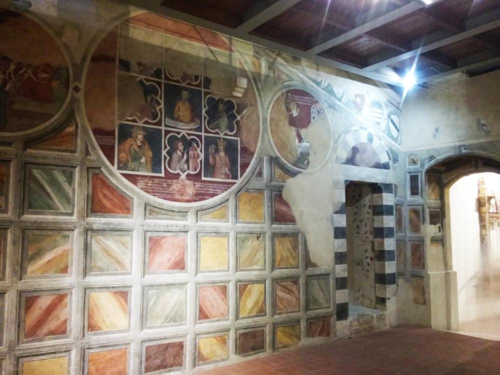 La parete con la ruota di Aristotele