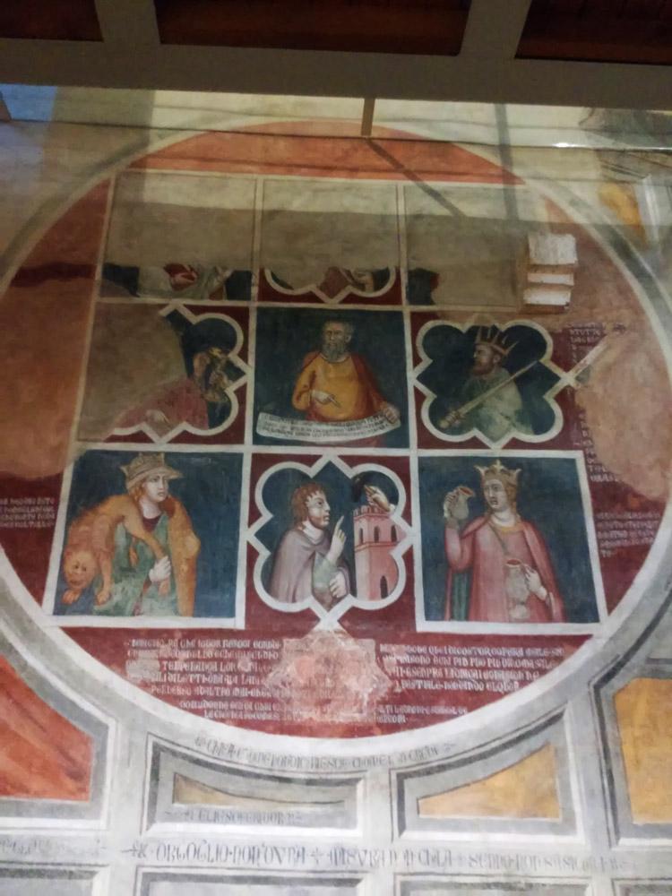 Cristoforo di Bindoccio e Meo di Pero, Ruota di Aristotele