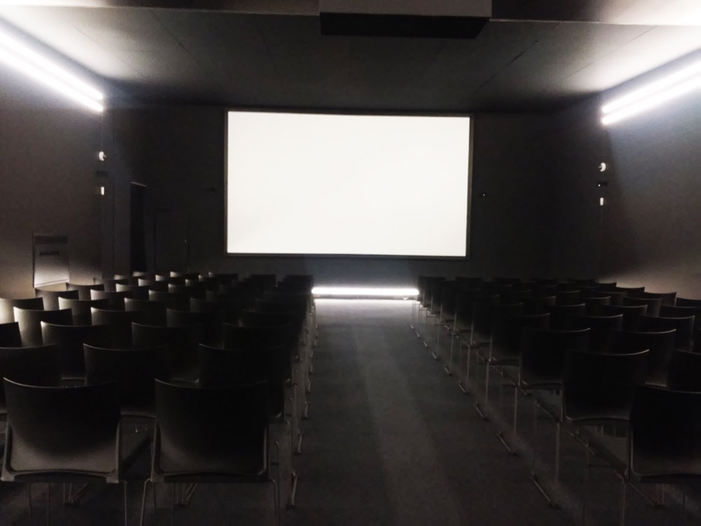 La sala-cinema