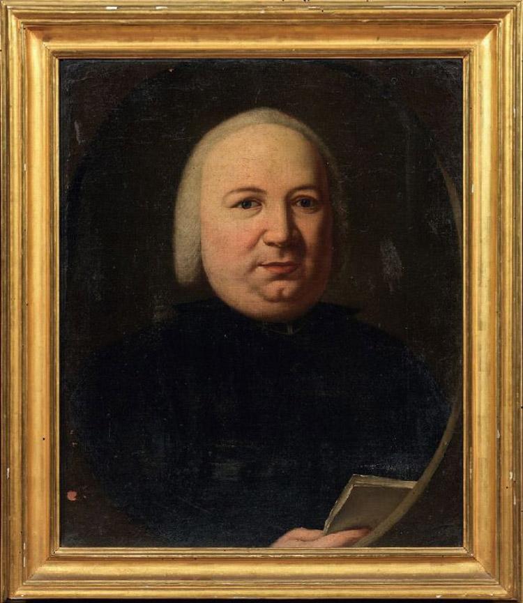 Scuola senese del XVIII secolo, Ritratto di Pompeo Neri