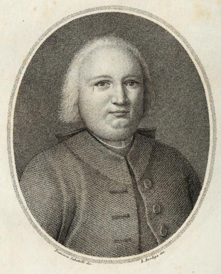 Francesco Sabatelli, Benedetto Bordiga, Ritratto di Pompeo Neri