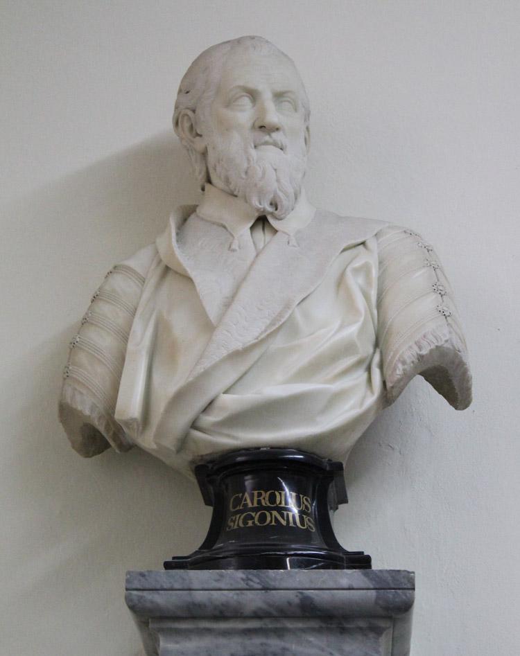 Giovanni Antonio Cybei, Carlo Sigonio