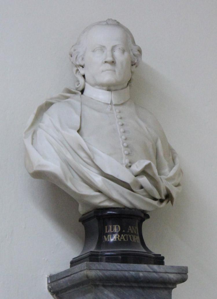 Giovanni Antonio Cybei, Ludovico Muratori