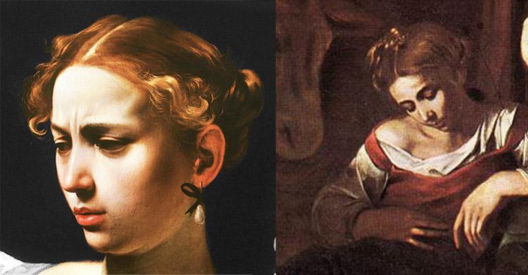 Confronto tra la Giuditta del 1602 e la Madonna della Natività palermitana