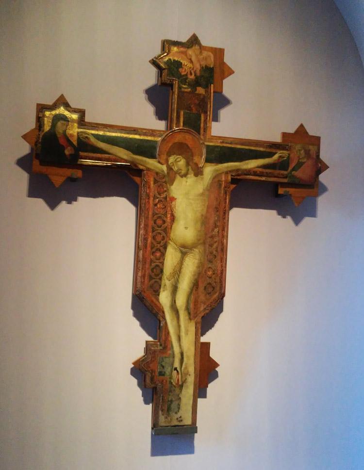 Ambrogio Lorenzetti, Croce dipinta