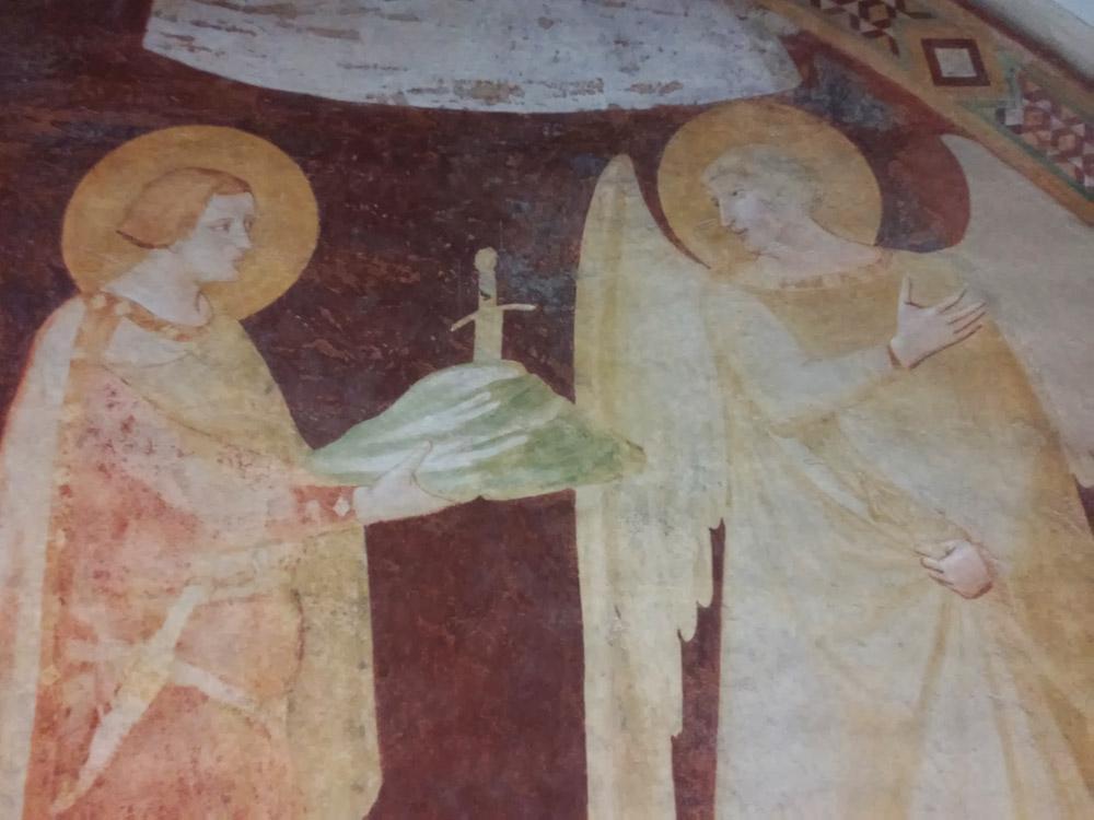 San Michele e san Galgano, dagli affreschi di Montesiepi