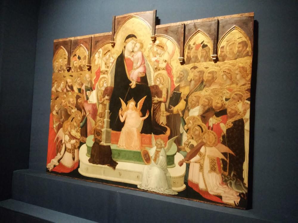 Ambrogio Lorenzetti, la Maestà di Massa Marittima