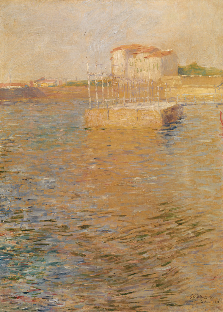 Alfredo Müller, I bagni Pancaldi a Livorno