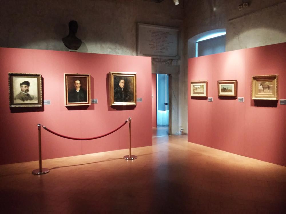La prima sala della mostra