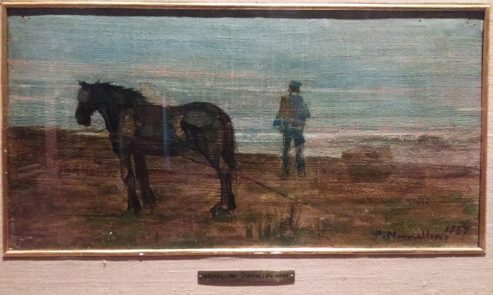 Plinio Nomellini, Cavallo sul mare