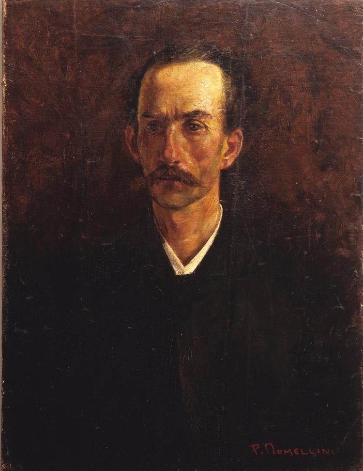 Plinio Nomellini, Il padre Coriolano