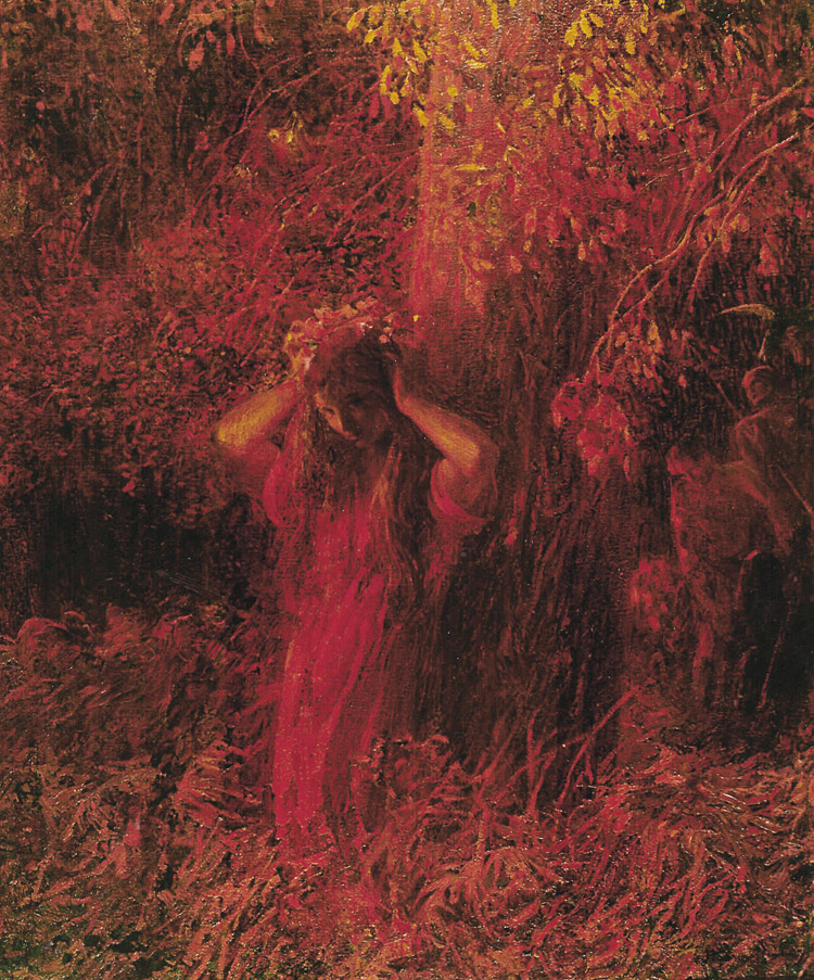 Plinio Nomellini, La ninfa rossa
