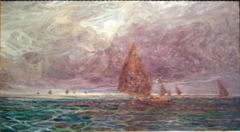 Plinio Nomellini, Marina