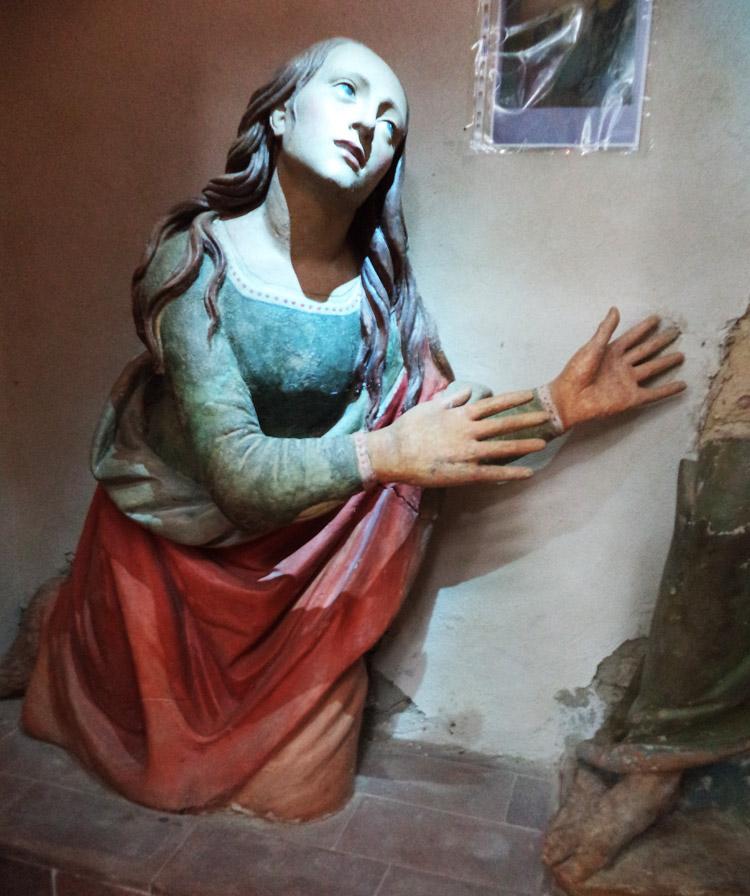 La Maddalena nel gruppo del Noli me tangere