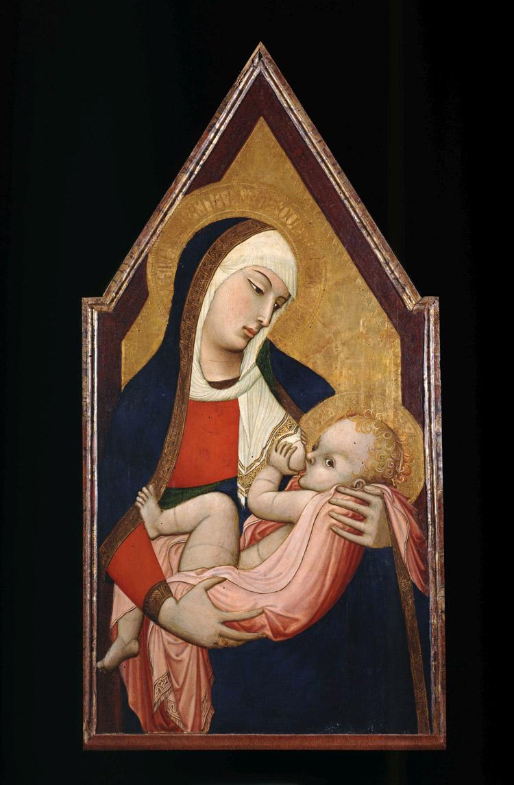 Ambrogio Lorenzetti, Madonna del latte