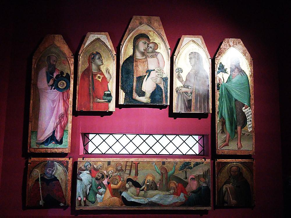 Ambrogio Lorenzetti, Polittico della Maddalena