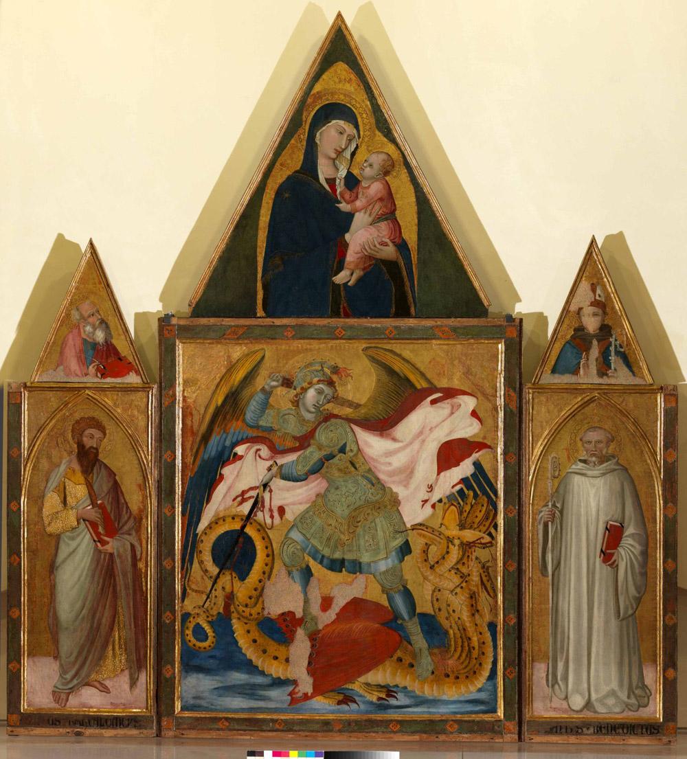 Ambrogio Lorenzetti, Trittico di Badia a Rofeno