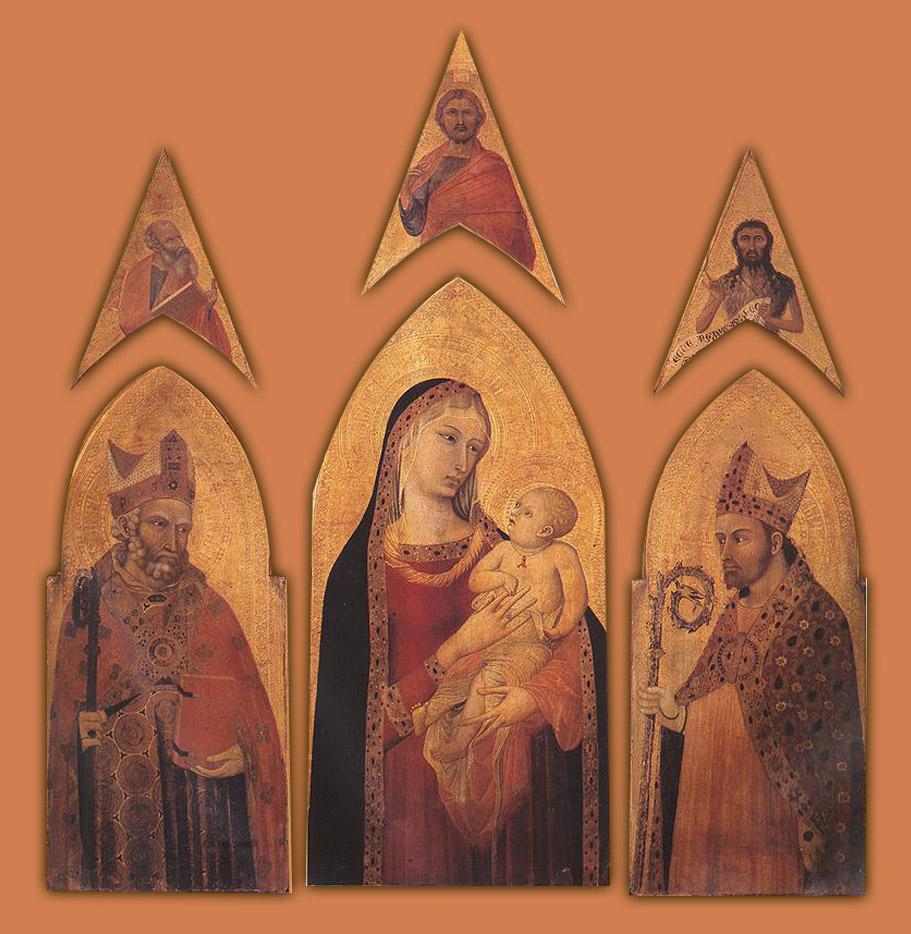 Ambrogio Lorenzetti, Trittico di san Procolo