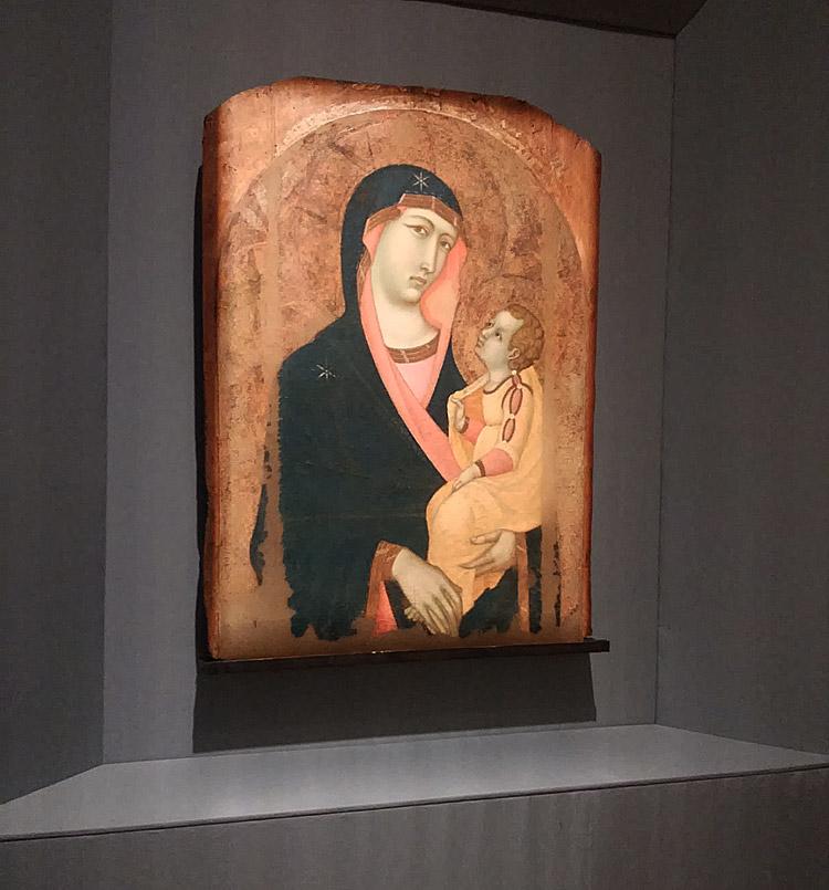 Pietro Lorenzetti, Madonna col Bambino