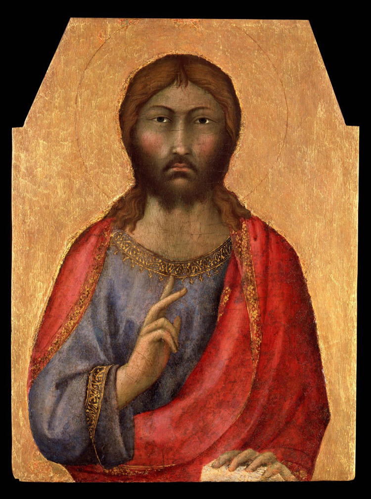 Simone Martini, Redentore benedicente