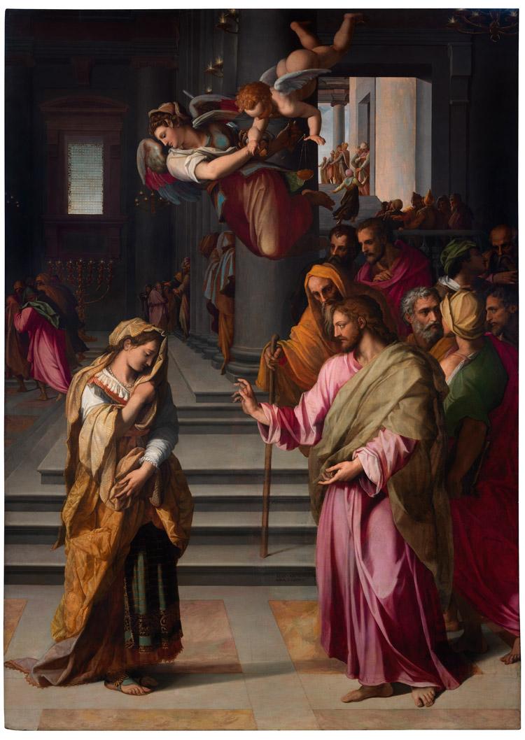 Alessandro Allori, Cristo e l'adultera